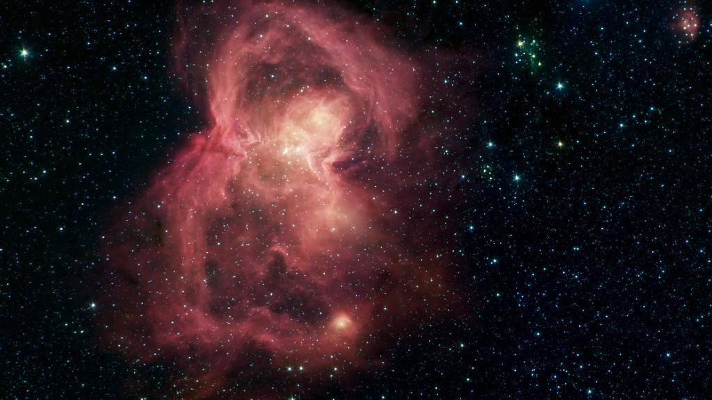 Die Flügel des «Weltraum-Schmetterlings» bestehen aus heissem interstellarem Gas.