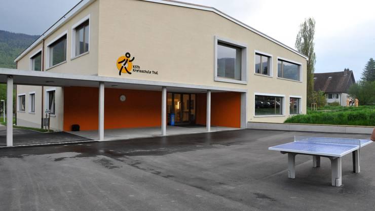 im Schulhaus der Kreisschule Thal wüteten die Vandalen.