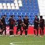Sevilla Ende Juni bei einem Meisterschaftsspiel gegen Leganes