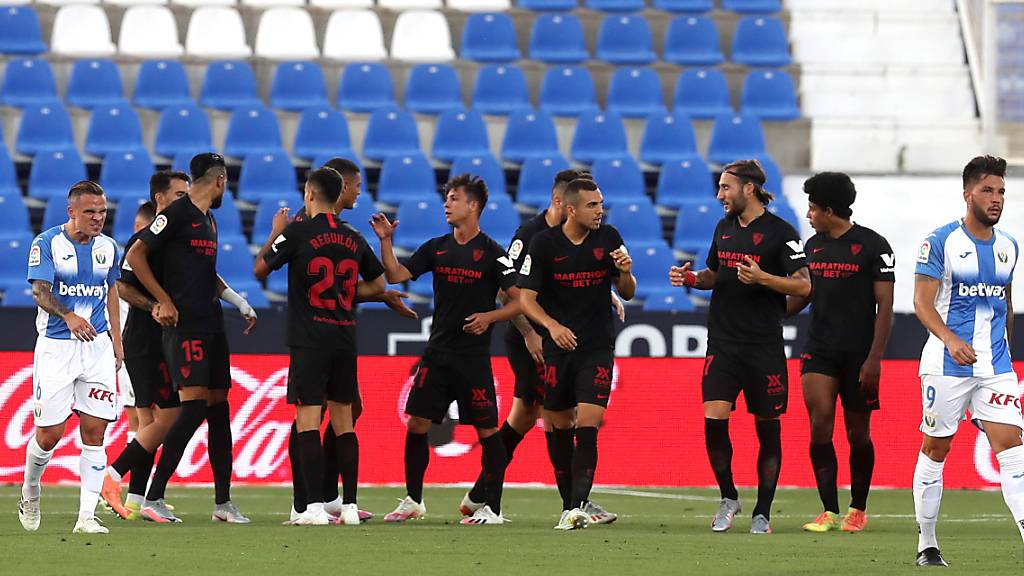 Corona-Fall beim FC Sevilla