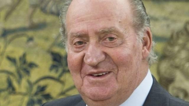 Der spanische König Juan Carlos nahm den Telefonstreich mit Humor (Archiv)