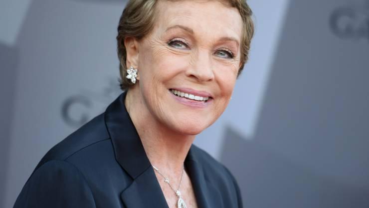 Wird an den 76. Internationalen Filmfestspielen von Venedig mit dem Goldenen Löwen für ihr Lebenswerk ausgezeichnet: Die britische Schauspielerin und Ehrenbürgerin von Saanen, Julie Andrews. (Archivbild)