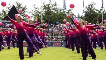 Das Eidgenössische Turnfest in Aarau war ein grosser Erfolg für die Basler und Baselbieter Turner.