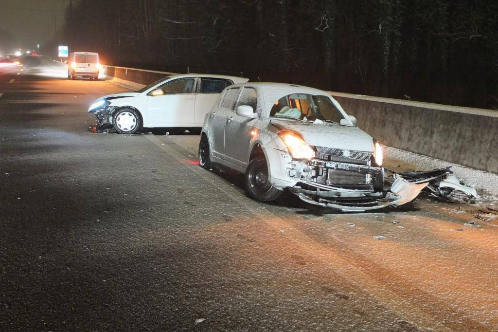 Totalschaden nach Unfall in Wil (© Kapo St.Gallen)