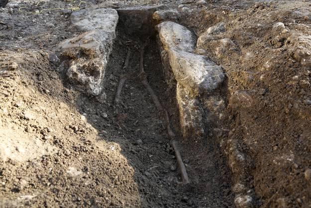 Die Gräber stammen aus dem sechsten bis siebten Jahrhundert.