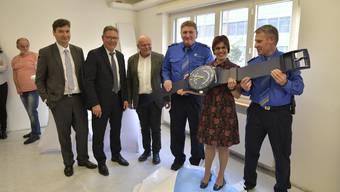 Offizielle Einweihung und Besichtigung neuer Poasten Grenchen der Kantonspolizei und der Amtsschreiberei