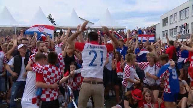 Public-Viewing-Bilanz positiv dank kroatischen Fans