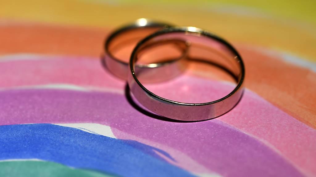 Die Räte haben sich geeinigt.: Die Öffnung der Ehe für gleichgeschlechtliche Paare ist bereit für die Schlussabstimmung. (Symbolbild)