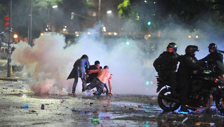Ausschreitungen in Buenos Aires nach dem verlorenen WM-Finale