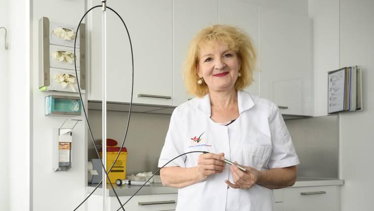 Im Jahr 2000 eröffnete Marguerite Krasovec Rahmann ihre dermatologische Praxis im Schlieremer Lilienzentrum.