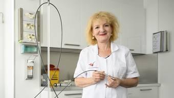 Marguerite Krasovec, Dermatologin