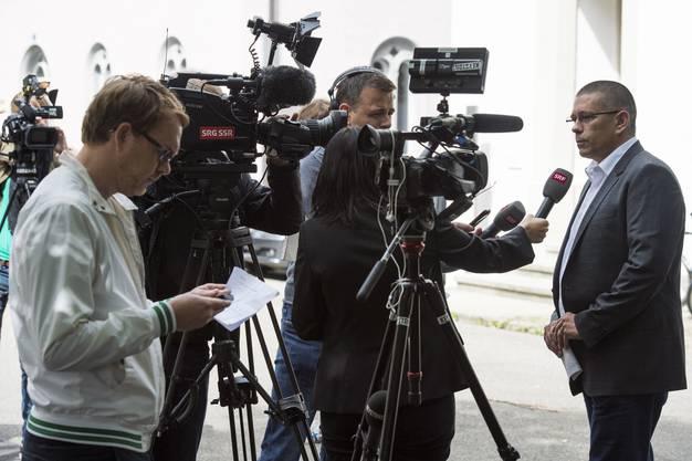 Vizeammann Markus Schneider bezieht Stellung zur Müller-Affäre