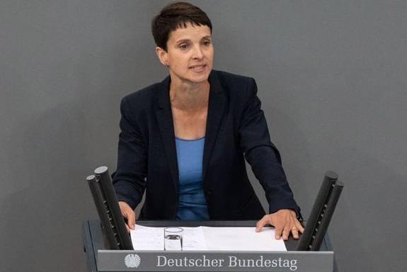 Ehemalige Vorsitzende der AfD: Frauke Petry.
