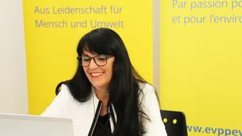Erfreut über Erfolge bei kantonalen Wahlgängen: EVP-Präsidentin Marianne Streiff.