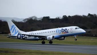Die britische Regional-Airline Flybe ist am Boden. Am  Donnerstag hat sie den Betrieb per sofort eingestellt.