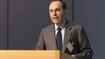 Verlegerpräsident Pietro Supino an der Dreikönigstagung des Verbands Schweizer Medien. (Archiv)