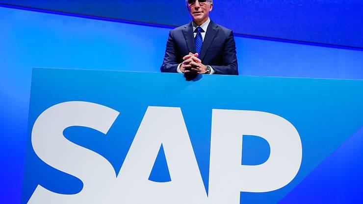 Softwareriese SAP senkt wegen Coronavirus-Pandemie Ausblick. (Archiv)