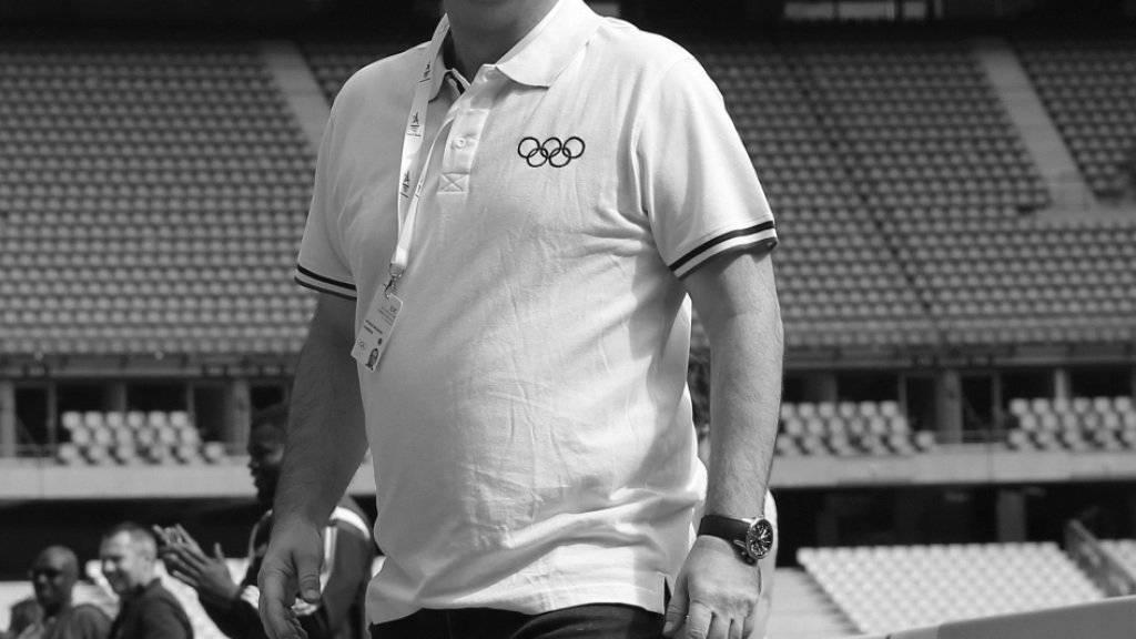 Das Schweizer IOC-Mitglied Patrick Baumann verstarb an einem Herzinfarkt (Archiv)