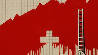 Jonas Raeber kommentiert in seinem Kurzfilm «Hoffen auf bessere Zeiten» die Schweizer Waffenindustrie mit klaren Worten: Blut hält das Geschäft am Laufen.