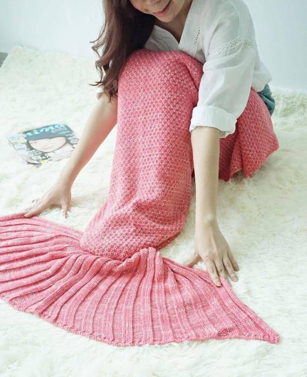 Decken für Nixen (© Instagram.com/street42_mermaidblanket)