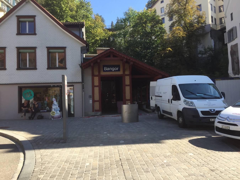 Die Talstation der Mühleggbahn in St.Gallen (Bild: Angela Müller/FM1Today)