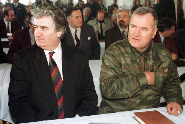 Beide werden für das Massaker in Srebrenica verantwortlich gemacht.