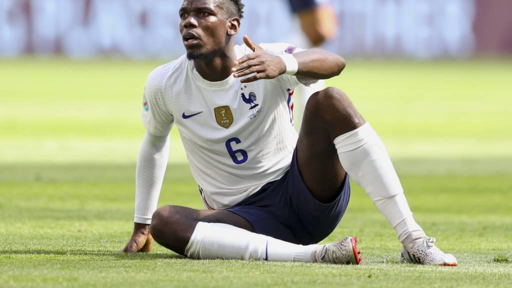 Paul Pogba ist das Zentrum der Franzosen