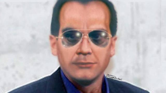 Fahndungsbild des flüchtigen Mafia-Bosses Matteo Messina Denaro