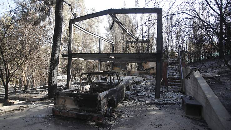 Die Waldbrände in Kalifornien im November kosten Versicherungen gemäss Schätzung bis zu 13 Milliarden Dollar. (Archiv)
