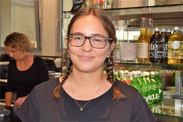 Lisa Schwab ist im Stadtfest-OK zuständig für das Thema Mehrwegbecher.