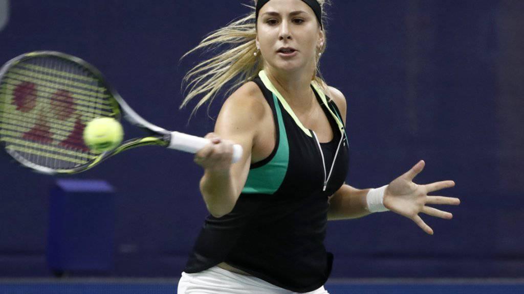 Belinda Bencic ist seit nunmehr zehn Partien ungeschlagen