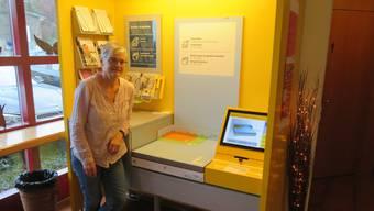 Doris Wernli betreute 12 Jahre die Postfiliale Eggenwil in der Gemeindeverwaltung. Nun wird diese per 31.12.2020 aufgelöst.