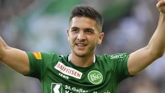 St. Gallens Stürmer Boris Babic erzielte gegen Thun das wegweisende Führungstor
