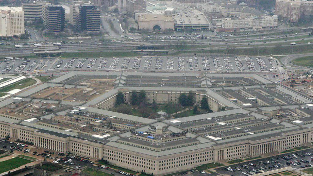 Hauptsitz des US-Verteidigungsministeriums: das Pentagon in Arlington im US-Bundesstaat Virginia an der Grenze zu Washington D.C. (Archivbild)
