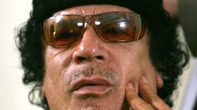 Will nicht aufgeben: Muammar al-Gaddafi (Archiv)