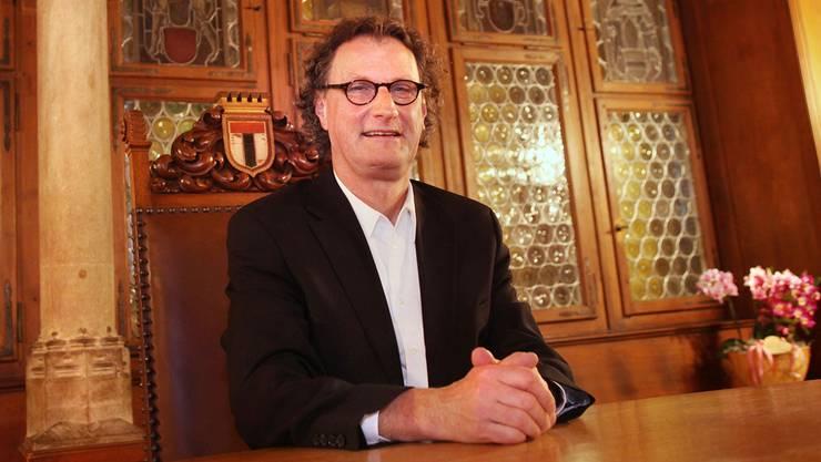 Geri Müller wird per April das Stadtammannamt antreten. Peter Lauth