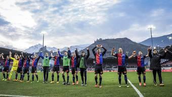 Am Ende konnte der FCB doch noch jubeln: vor der Nati-Pause gab's den nächsten Sieg in der Liga.