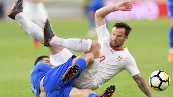 Test-Länderspiel Griechenland - Schweiz