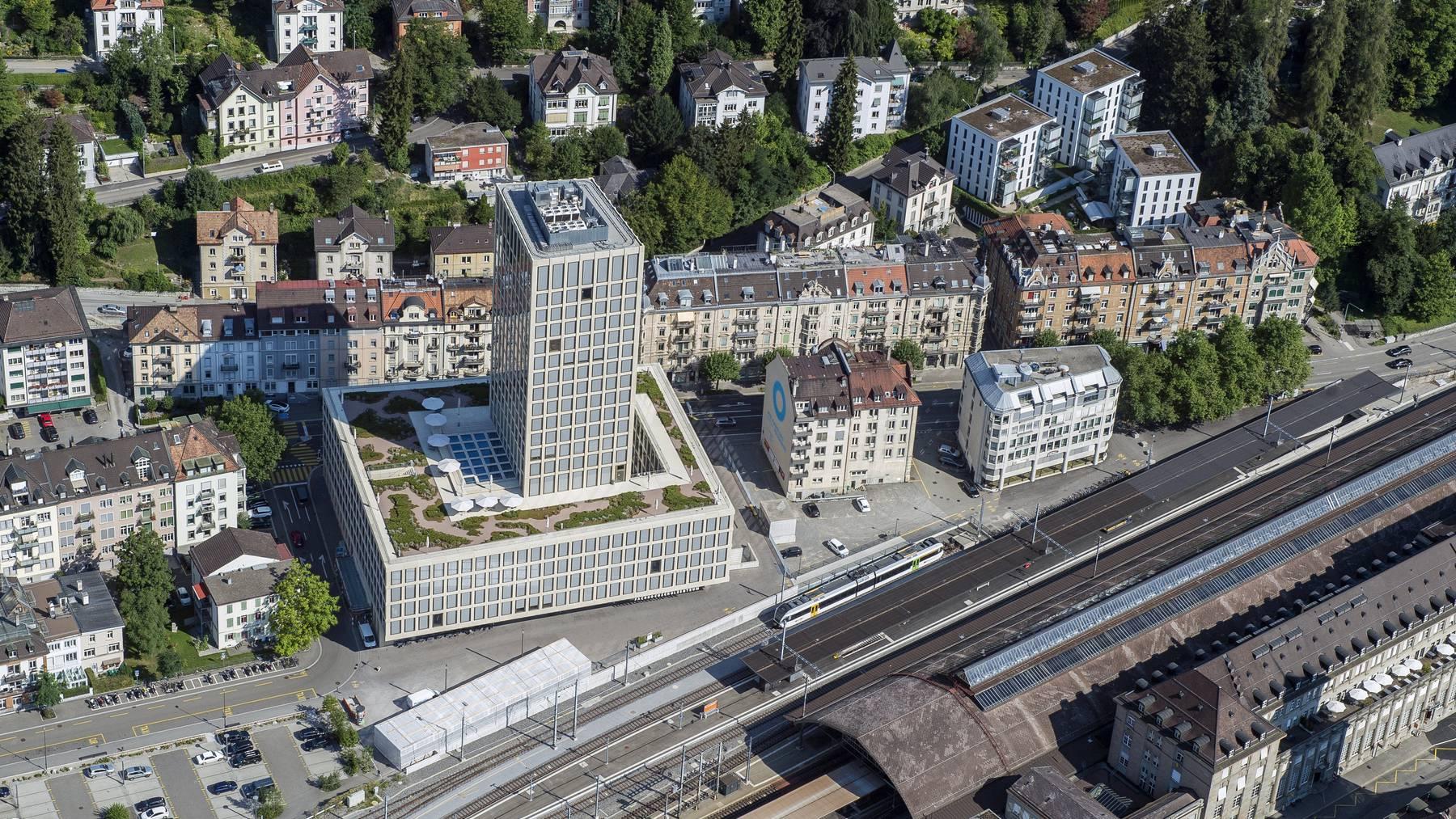 In einem architektonisch spannenden Gebäude wird künftig auch Architektur unterrichtet.