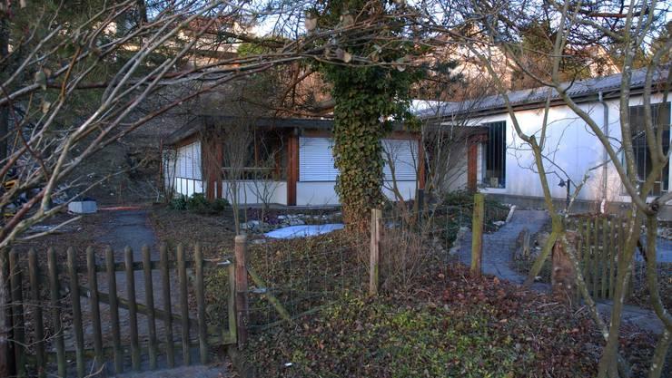 Das Hexenmuseum: Das Haus liegt in einem etwas verwunschen wirkenden Garten in Auenstein. (to)