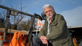 Rudolf Winzenried kann sich nun vermehrt seinem Hobby, der Fischerei, zuwenden.
