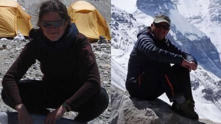 Bergsteiger-Paar aus Küttigen war am Mount Everest, als die Erde bebte.
