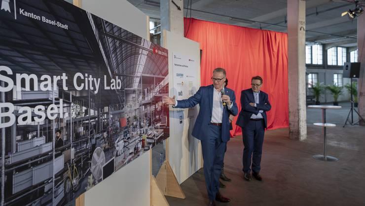Eröffnung Smart City Lab in Basel