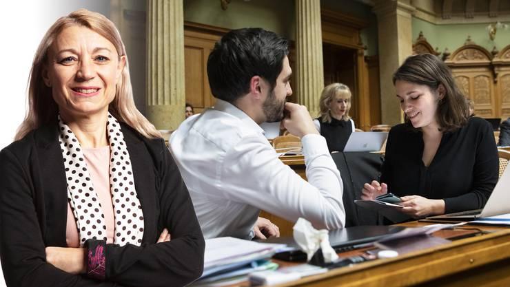 Yvonne Feri hofft auf einen neuen SP-Präsidenten aus der Mitte der Partei. Wermuth und Meyer sind ihr zu links für den Job.