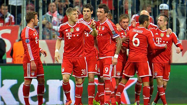 Die Bayern spielen gegen ManU um den Halbfinal-Einzug