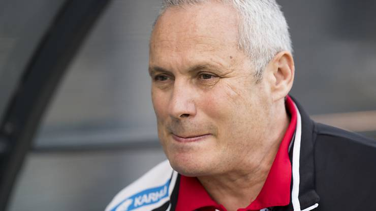 Der FC Le Mont (im Bild Präsident Serge Duperret) steigt am Saisonende aus der Challenge League ab