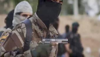 Wollen einst arabische Gebiete zurückerobern: IS-Kämpfer drohen dem Westen in neuem Exekutionsvideo. (Archiv)