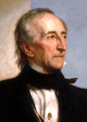 Tyler ist der erste Vizepräsident, der durch den Tod des Präsidenten in das Amt aufrückt. Er wurde von seiner Partei (Whig) ausgeschlossen, weil er gegen die Neugründung der Nationalbank sein Veto einlegte.