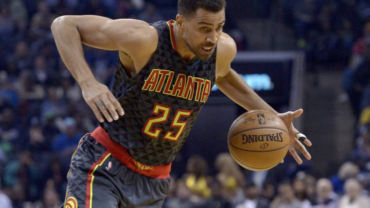 Thabo Sefolosha war mit Atlanta chancenlos