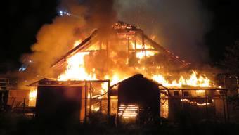 Scheunenbrand Fahrwangen